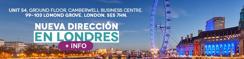 Nueva Dirección Londres Colombia